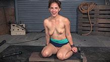 Deepthroat queen Devilynne facefucked by BBC