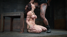 Sexy Chanel Preston BBC fucked with a mouth gag