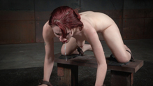The pale bound ass of Violet Monroe