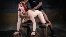 Retrained Violet Monroe roughly fucked by BBC as she cums