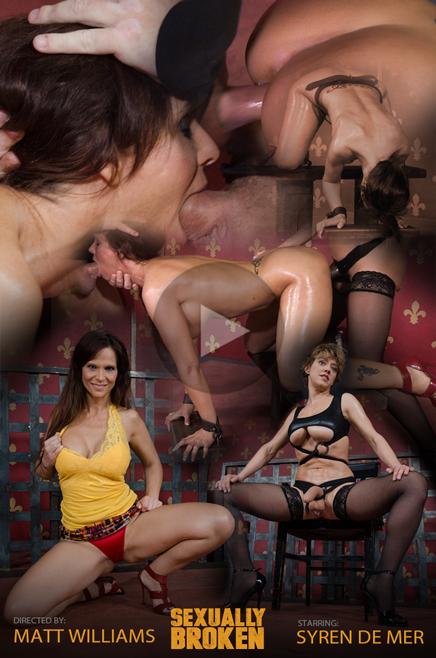 Syren De Mer and Dee Williams lesbian sex