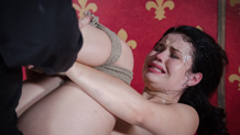 Yhivi face fucked and deep throated