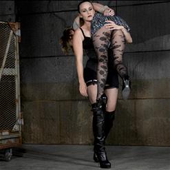Bella Rossi carries Mercy West into her dungeon.