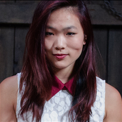 Lea Hart sexy Asian red hair.