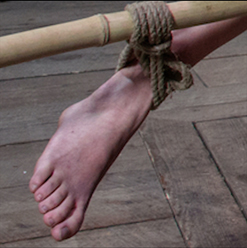 Asian Lea Hart asshook bondage Topgrl