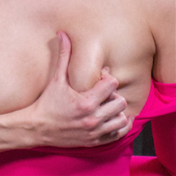 Penny Barber nipples clothes pinned by Rain DeGrey on Topgrl
